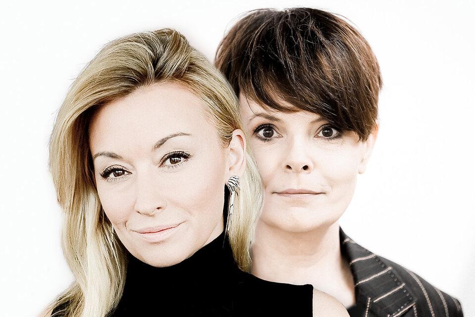 Martyna Wojciechowska i Karolina Korwin-Piotrowska