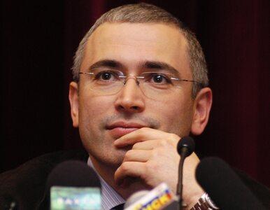 Chodorkowski chce zostać prezydentem Rosji
