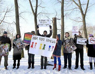 Przeciwnicy homofobii wytrzymali 5 minut