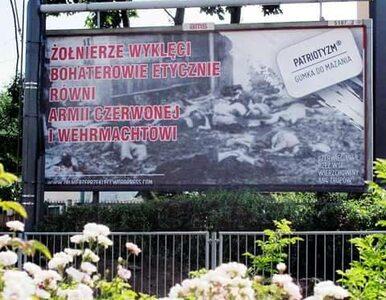 Żołnierze wyklęci jak sowieci i naziści. Kontrowersyjny billboard w...