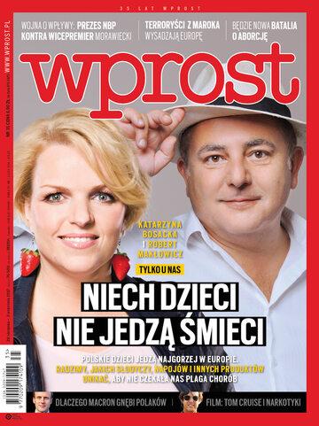Okładka tygodnika Wprost nr 35/2017 (1800)