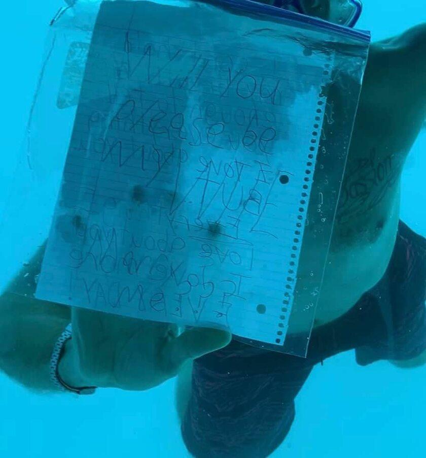 Podwodne oświadczyny