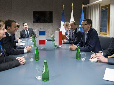 Spotkanie Morawiecki-Macron. Tematem sprawy kierowców i zmiany w polskim...