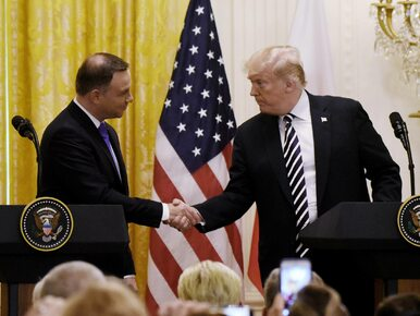 """""""Financial Times"""" pisze o Fort Trump. """"Prezydent USA poważnie..."""
