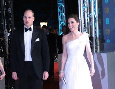 Para książęca na gali BAFTA 2019. Kate założyła biżuterię księżnej Diany
