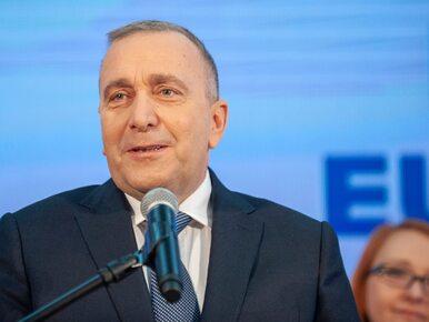 Ochojska i Adamowicz na listach Koalicji Europejskiej do PE. Grzegorz...