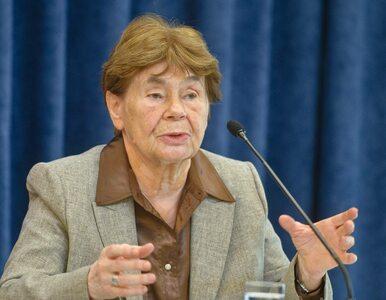 Zofia Romaszewska: Trzeba naprawić tą niebywałą ustawę o IPN