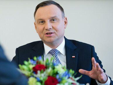Duda o przemówieniu Trumpa: Pokazywało Polskę jako państwo z...