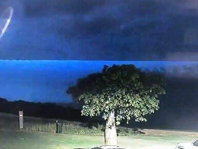 """Policyjna kamera nagrała UFO? """"Wydaje się, że nie jesteśmy sami"""""""