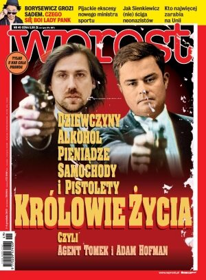 Okładka tygodnika Wprost nr 49/2013 (1606)