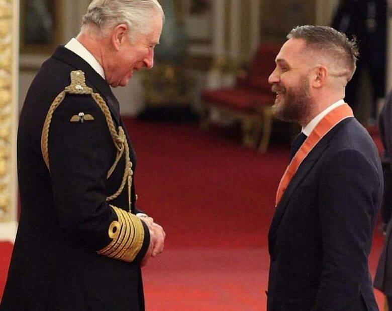 Tom Hardy z Orderem Imperium Brytyjskiego. Książę Karol nie powstrzymał...