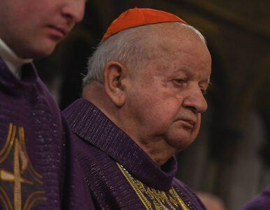 """Kard. Dziwisz zabiera głos ws. biskupa Szkodonia. """"Modlę się w intencji..."""