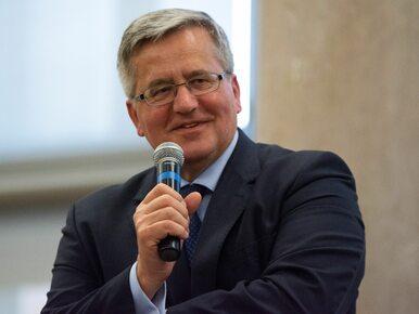 """Bronisław Komorowski weźmie udział w obchodach 11 listopada? """"Nie bardzo..."""