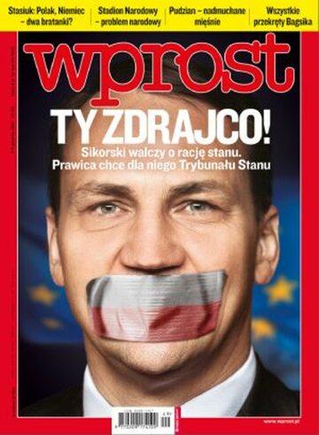 Okładka tygodnika WPROST: 49/2011