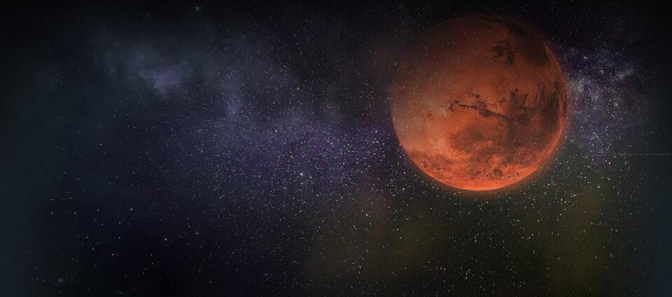 Mars - ilustracja