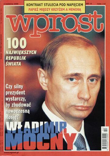 Okładka tygodnika Wprost nr 14/2000 (905)