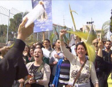 Ludzie z całego świata w Jerozolimie. Świętowali Niedzielę Palmową