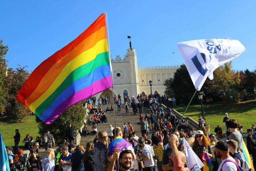 Marsz Równości w Lublinie w 2018 roku