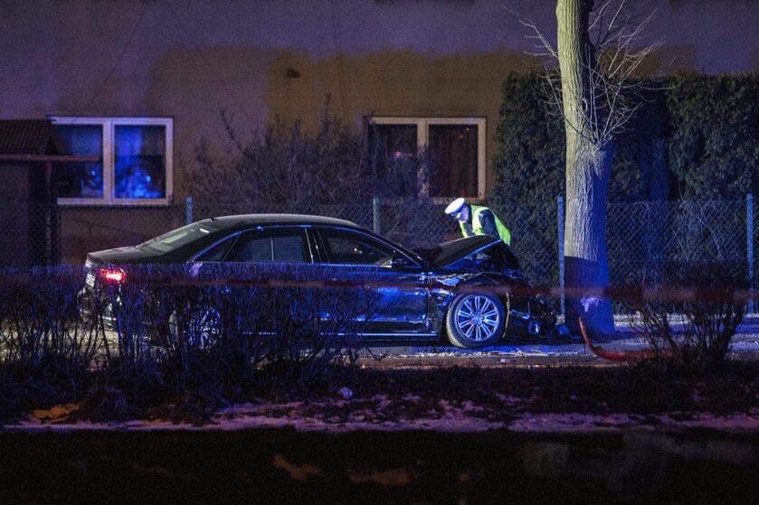 Wypadek z udziałem Beaty Szydło