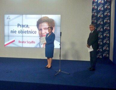 """Nowe hasło PiS. """"Praca, nie obietnice"""""""