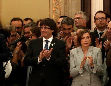 Dziewięciu członków katalońskiego rządu przed sądem. Grozi im 30 lat...