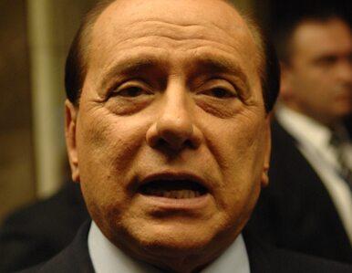 Berlusconi: Włochy nie mają alternatywy - muszę pozostać premierem