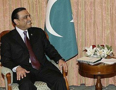 "Prezydent Pakistanu miał ""łagodny atak serca"""