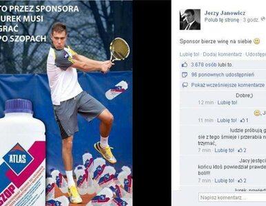 Janowicz przerwał milczenie. Awanturze winny... sponsor