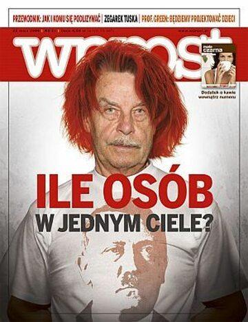 Okładka tygodnika Wprost nr 21/2008 (1326)
