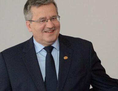 """Kaczyński ucieszył Komorowskiego. """"Zrobił to, o co apelowałem"""""""