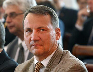 Radosław Sikorski podpadł polskiej policji. Poszło o wpis na Twitterze