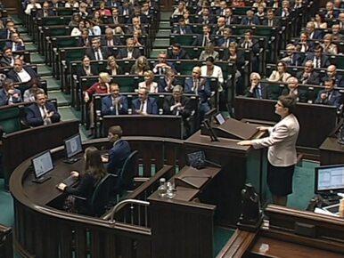 """""""Misiewicze!"""", """"pisiewicze!"""". Gorąca dyskusja w Sejmie. Szydło wkroczyła..."""