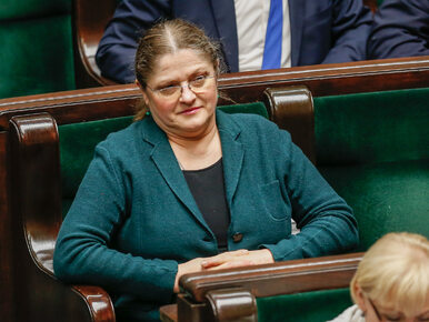Zaskakujące życzenia dla Krystyny Pawłowicz w Sosnowcu. To nawiązanie do...