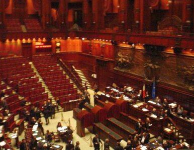 Temperamentna Izba Deputowanych - we Włoszech polała się krew