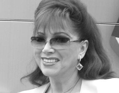 Zmarła znana pisarka Jackie Collins. Miała 77 lat