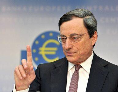 """""""EBC uratuje euro za wszelką cenę"""""""