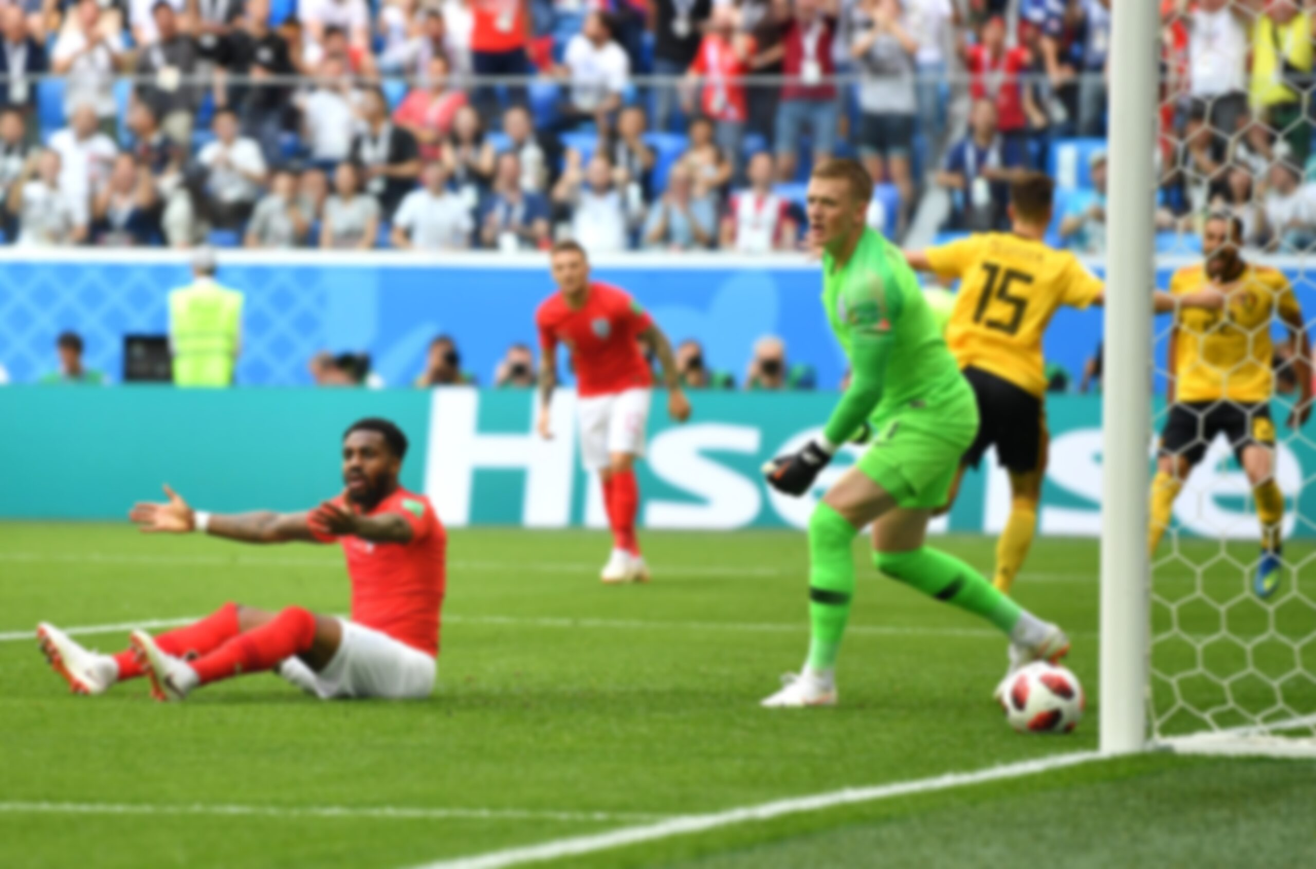 Mecz Belgia - Anglia