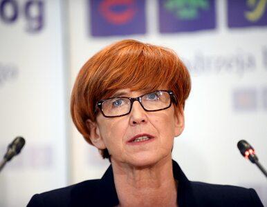 Protestujący spotkali się z minister Rafalską. Pozostaną w Sejmie