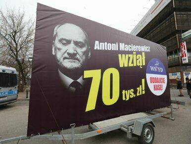 PO organizuje Konwój Wstydu. Na billboardach politycy PiS
