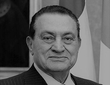 Hosni Mubarak nie żyje. Były prezydent Egiptu miał 91 lat