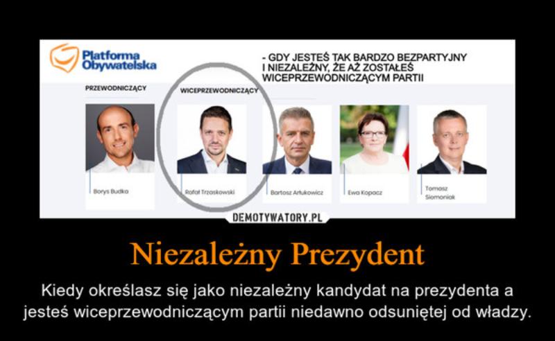 Wybory prezydenckie 2020. Mem o kampanii