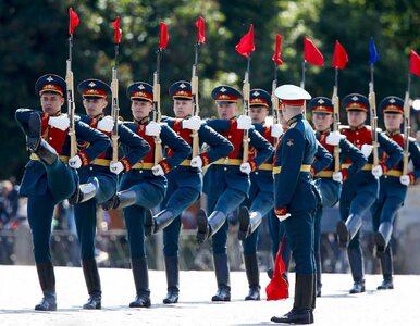 Defilada wojskowa w Moskwie. 13 tys. żołnierzy, nowoczesne myśliwce i...