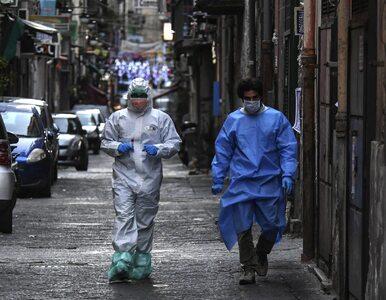 Włochy. Ponad 100 tys. zakażonych koronawirusem, w ciągu doby zmarło 812...