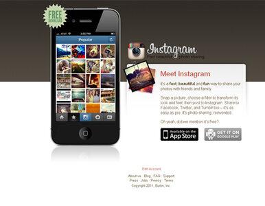 Instagram sprzedał się Facebookowi