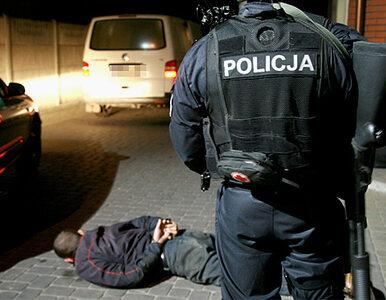 To zbiegły więzień strzelał do policjantów. Został schwytany
