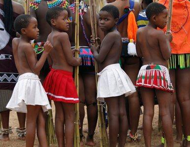 Dziewice tańczą dla króla Suazi