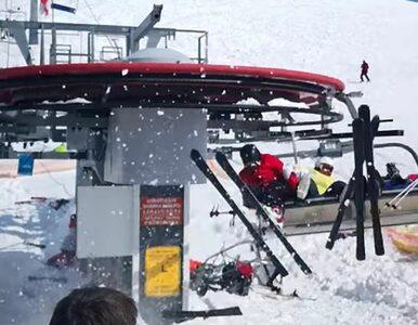 """Horror na stoku. Wyciąg narciarski """"zwariował"""", przyspieszył i ruszył..."""
