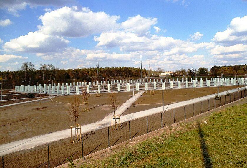 Park Pamięci Narodowej w Toruniu (stan prac na kwiecień 2020 r.)