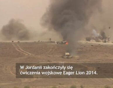 """""""Przyczajony Lew"""" - międzynarodowe manewry w Jordanii z udziałem..."""
