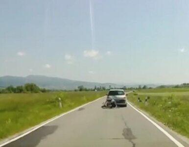 Kierowca pod Tatrami brutalnie zaatakował rowerzystów. Jest wideo z...